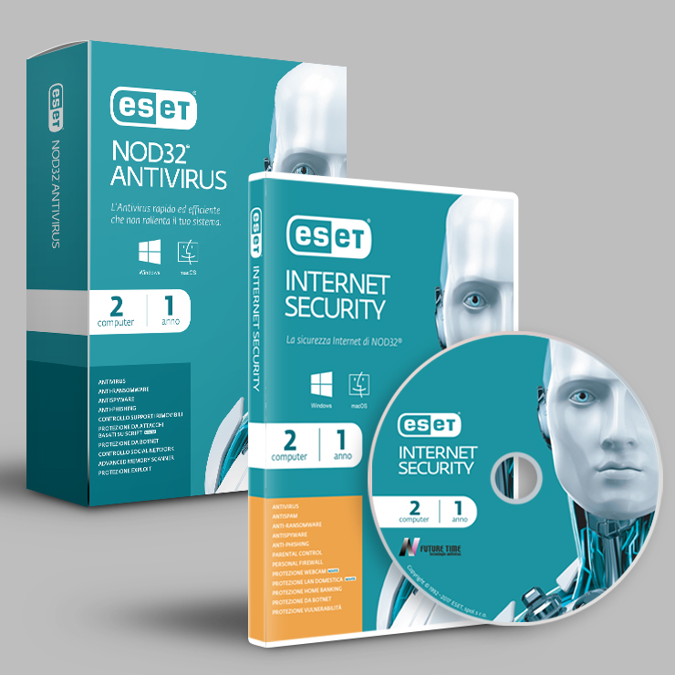 Packaging & Brand design ESET